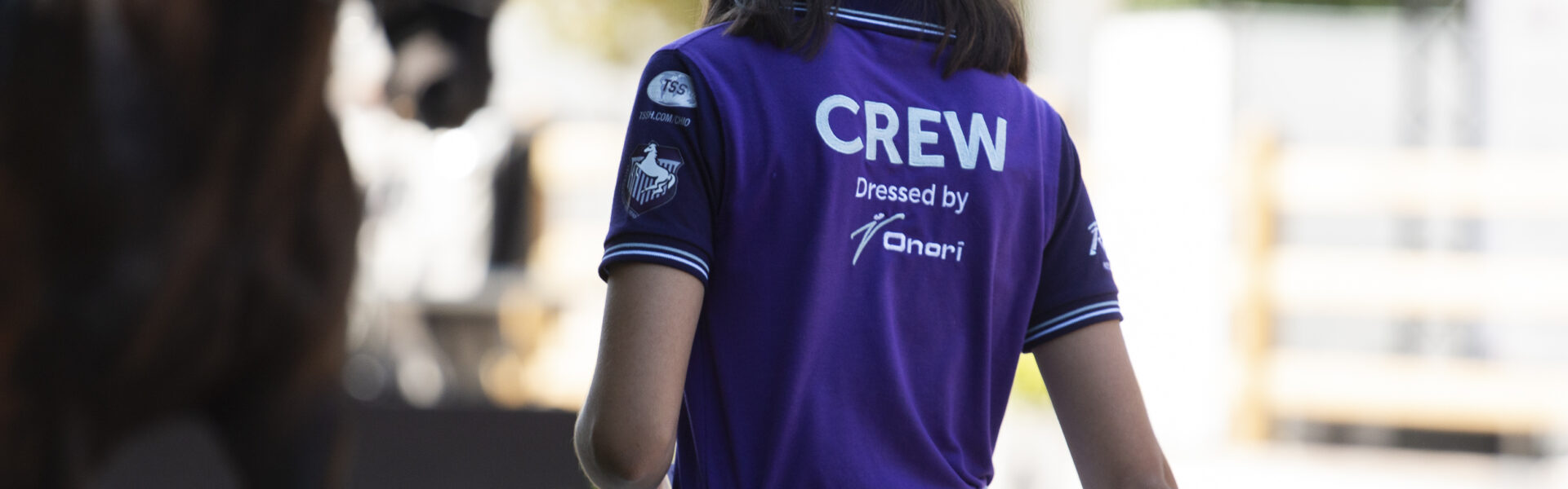 Lvd E Crew shirt sfeer paard runner