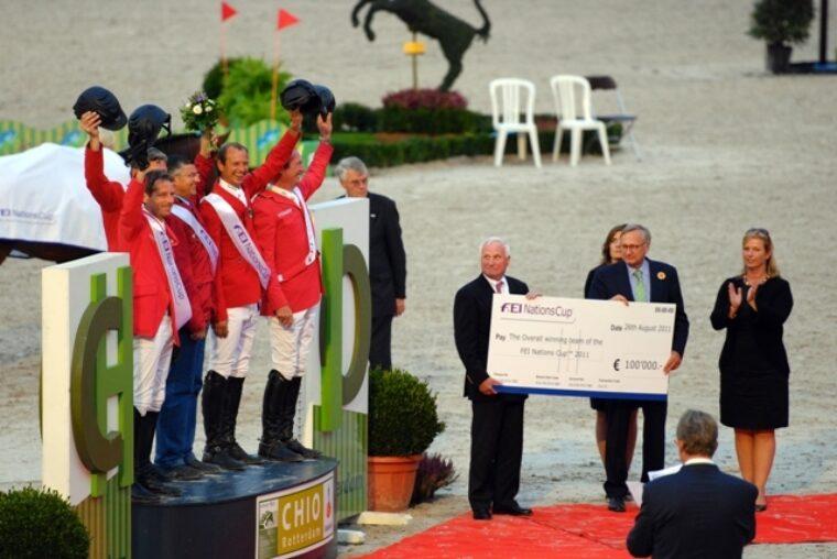 20110826 JK sfeer FEI Nations Cup prijsuitreiking 2