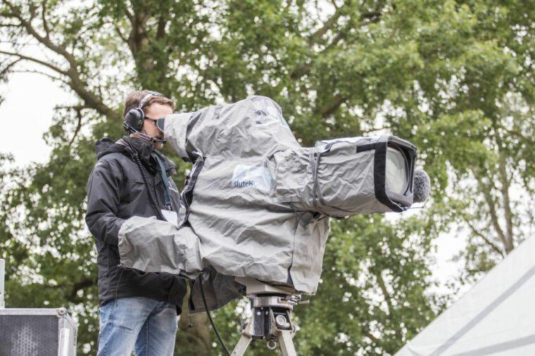 Cameraman aan het werk