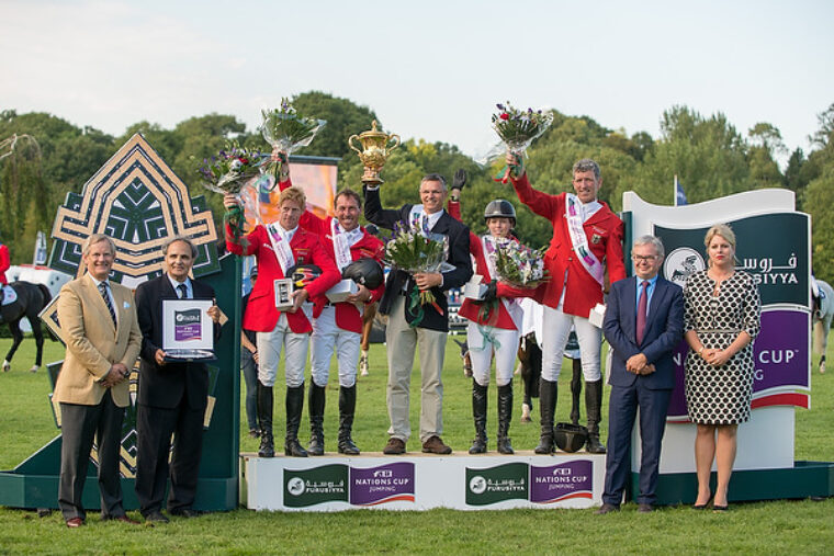 Germany wins Hickstead