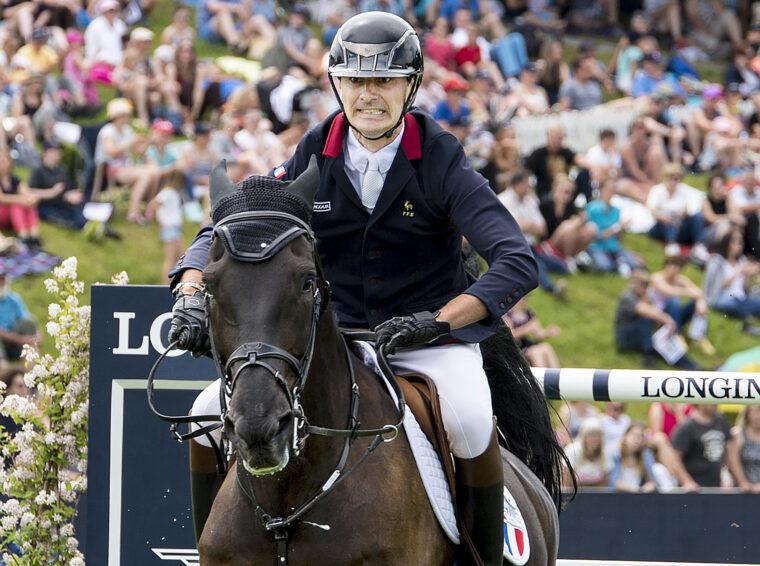 Nicolas Delmotte FRA riding Ilex VP LW