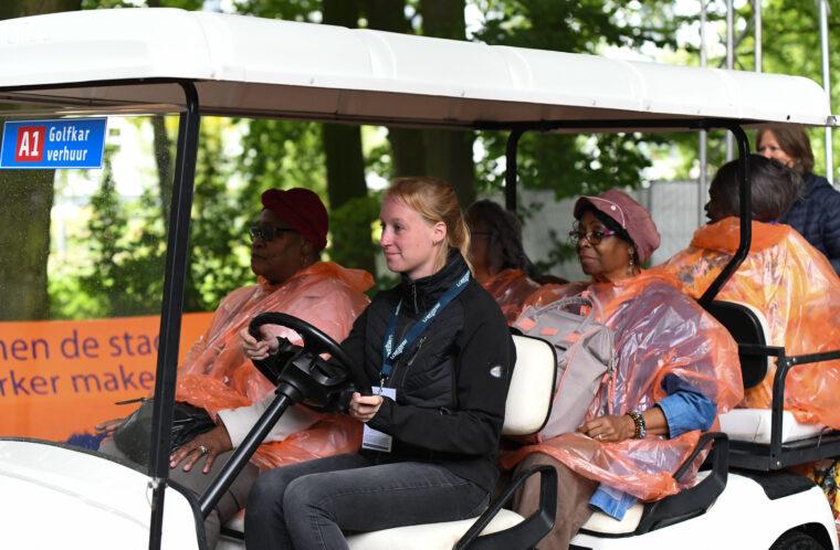 SLE bestuurders golfkarretjes 3
