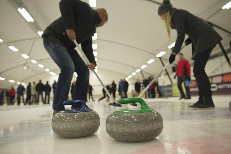 Vrienden Leonidas curling