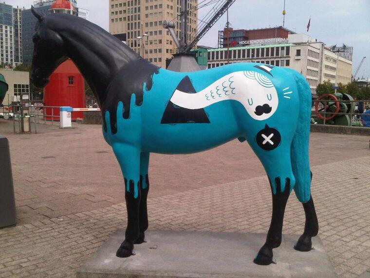 Paard in de stad CHIO