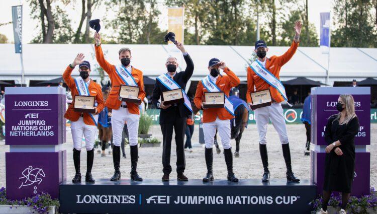 DV Team NL nationscup springen 4879